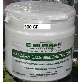 Máscara S.o.s Reconstrução Pos Quimica Burana 500g