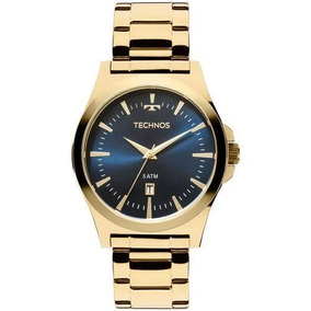 Relógio Masculino Dourado Technos 2115lan/4a