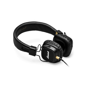 Headphone Marshall Major Ii Preto Soquete Duplo P2 **