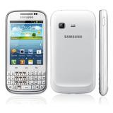 Samsung Galaxy Chat Gt-b5330l Liberado Blanco White Fullbox