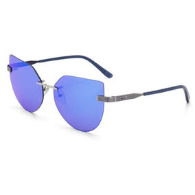 8abe5e84f699b Oculos Espelhado Feminino Azul De Sol Colcci - Óculos De Sol no ...