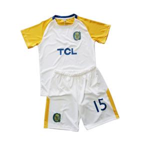 Conjunto Camiseta Y Short Niño Rosario Central Personalizado