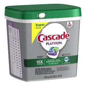 Cascade Platinum Actionpacs Detergente Lavavajillas 3001