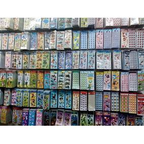 Kit Adesivos Infantis Stickers Com 120 Cartelas