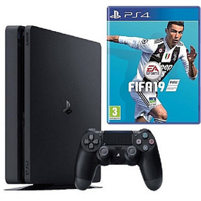 Console Playstation 4 Slim 1tb Usa Bundle Fifa 19 - Ps4