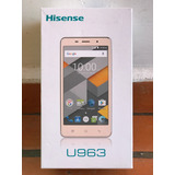 Hisense U963, Nuevo Sellado, Color Dorado, Libre De Red