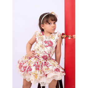 Conjunto Luxo Princesa Menina Infantil