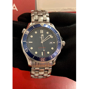 Omega Seamaster James Bond 41mm Blue Dial , Completo!!!