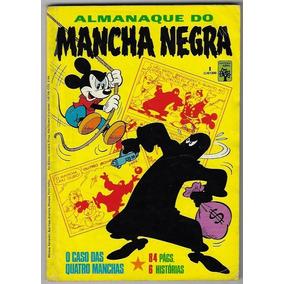 1984 Hq Quadrinhos Almanaque Do Mancha Negra Nº 1 Edt. Abril