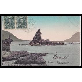 Postal - Niterói - Praia De Icaraí