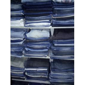 Lote Com 15 Calça Jeans Feminia Usadas P/brechó