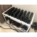 Rig Para Mineração 7 Placas Rx570 4gb Com Bios Mod 30mhs X7