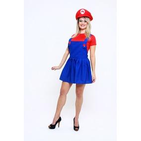 Fantasia Mario Feminina Infantil - Calçados 607daab7cec