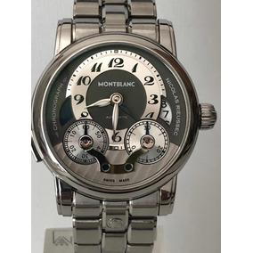 b9122b4597d Montblanc Nicolas Rieussec Twin Barrels - Relógios no Mercado Livre ...