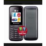 Celular Simples Lg-b220 Preto.