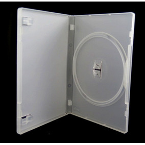Box Dvd 100 Capa Dvd Resistente Transparente Max.100 P/envio