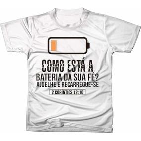 Camiseta Evangelica Masculina Desenho De Bateria - Camisetas e ... 80e670f7860