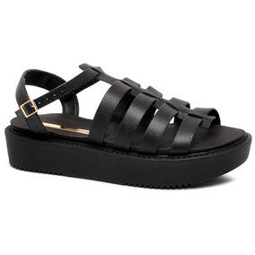 35f5b11aa1 Sadala De Salto Feminino Outros Tipos Moleca - Sapatos no Mercado ...