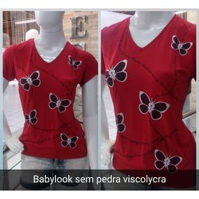 Kit C/4 Blusas Evangélica Feminina Camiseta Frases Gospel