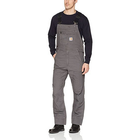 Overol Carhartt Overall Pantalon Trabajo Mono Industrial Bib