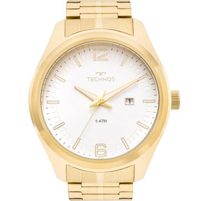 9a8670b6a49 Relogio Masculino Dourado - Relógio Masculino no Mercado Livre Brasil