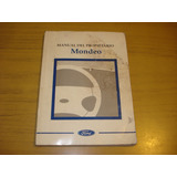 Libro Manual Original Ford Mondeo 1997 (1 Manual )