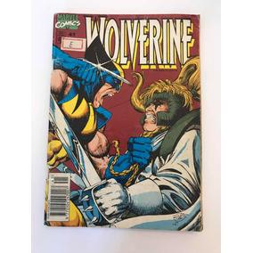 Gibi Wolverine Nº: 41 - Marvel Comics - Ed. Abril Jovem