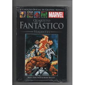 Col Oficial Graphic Novels Marvel Quarteto Fantastico #133