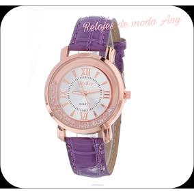 Lote De 10 Relojes De Moda, Elegantes, Variedad De Colores.