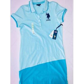 Vestido Polo Uspa Mujer Original 8a10186503cf5