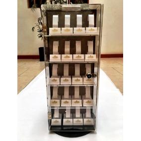 Fino Exhibidor De 40 Relojes Tipo Vitrina Giratoria Acrilico