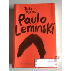 Livro Toda Poesia De Paulo Leminski