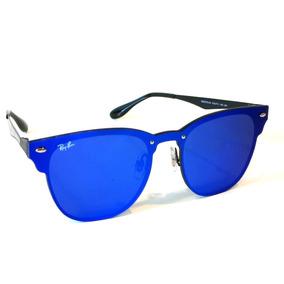 886f82001c31e Ray Ban Blaze Clubmaster Azul - Óculos no Mercado Livre Brasil