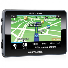Navegador Gps Multilaser Tracker Iii Gp035 Lcd Com Gps / Tv