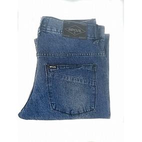 Calça Rip Curl Jeans Straight Clean 2215 Promoção b300084442e