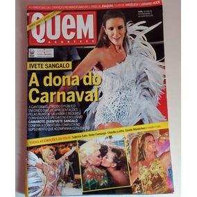 Revista Quem Acontece Nº 548 Ivete Sangalo Carnaval 2011