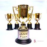 10 Copa Trofeo Premio Estatuilla Copa Dorada 10cm Fiesta Car