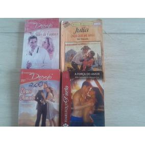 10 Livros De Romance Julia, Sabrina, Harlequin........