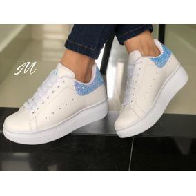 d657fb9d6267f Zapatos Tenis Deportivos Alexander Mcqueen Mujer Envio Grati