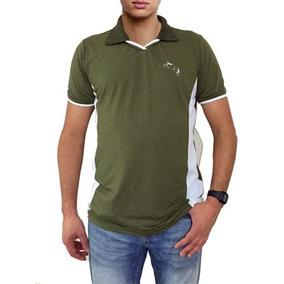 e5d581203a Camisa Polo Malha Fria Bolso - Pólos Manga Curta Masculinas Verde ...
