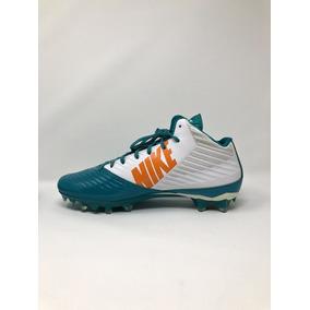 Zapatos Futbol Americano Aqua en Mercado Libre México 2b128db3fba
