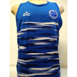 892bee3f83 Camisa Cruzeiro Azul Regata Maratona no Mercado Livre Brasil