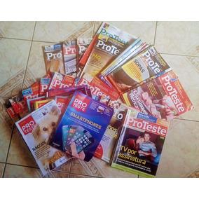 Coleção 74 Revistas Proteste 115-188 Jul 2012-março 2019