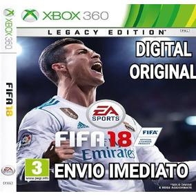 Fifa 18 Fifa18 Xbox 360 Digital Original Narração Ptbr