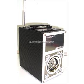 Reproductor Mp3 Corneta Radio Micro Sd Pendrive Recargable