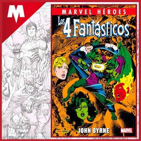 Los 4 Fantásticos De John Byrne Vol. 4 Marvel Heroes Panini