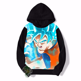 Blusa De Frio Dragon Ball Estampa Full Infantil Ref 28