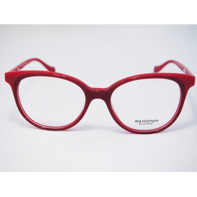 8f7337c372149 Oculo Ana Hickmann Vermelho - Óculos no Mercado Livre Brasil