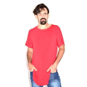 Kit C/ 4 Camisetas Swag Longline Camisa Abaloada Oversized