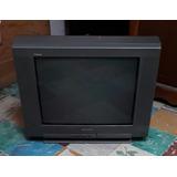 Tv Sony Trinitrón, Pantalla Plana De 20 Pulg. Estereofónica